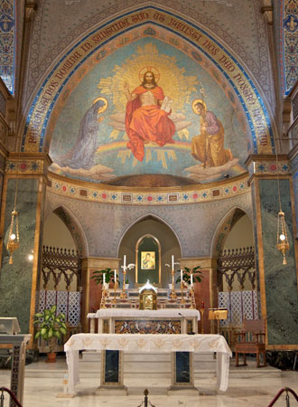 st. alphonsus church sanctuary