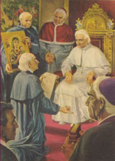Testifying to Pius IX